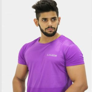 Lift Dry Purple T -Shirt