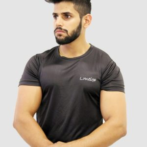 Lift Dry Gym Black T Shirt