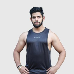 Lift Dry Black Sleeveless